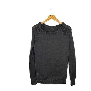 Lululemon Yin to You Sweater Dark Grey Size 6